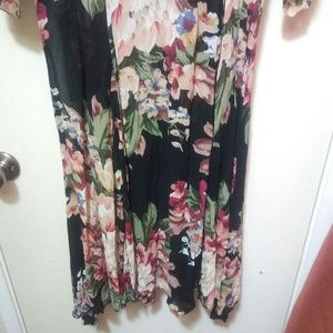 New Options Dresses - Gorgeous Sheer Floral Maxi